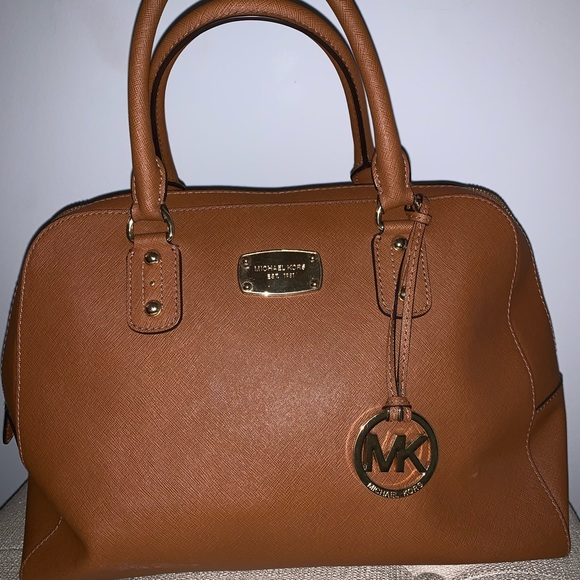 Michael Kors Handbags - Michael Kors Brown Leather Handbag